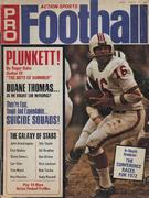 Action Sports Pro Football 1972 Magazine