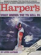 Harper's Magazine November 1971 Magazine