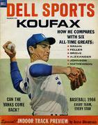 Dell Sports Magazine March 1966 Magazine