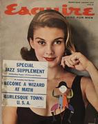 Esquire January 1, 1957 Magazine