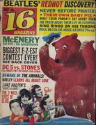 16 Magazine December 1964 Magazine