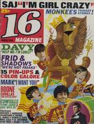 16 Magazine November 1968 Magazine