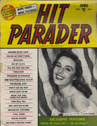 Hit Parader Magazine April 1954 Magazine