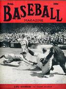 Baseball Magazine August 1941 Magazine