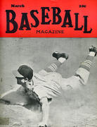 Baseball Magazine March 1943 Magazine