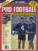 The Sporting News Pro Football 1993 Yearbook Magazine