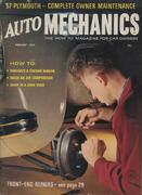 Auto Mechanics Magazine February 1957 Magazine