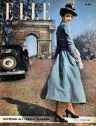 Elle Magazine April 20, 1948 Magazine