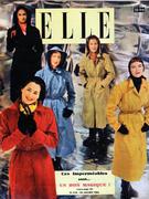 Elle Magazine January 30, 1950 Magazine