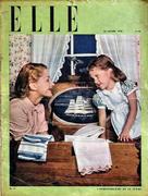 Elle Magazine January 30, 1946 Magazine