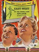 Shrine All Star East - West Classic Magazine December 29, 1951 Magazine