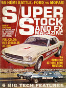Super Stock And FX Magazine April 1965 Magazine