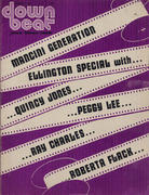 Down Beat Magazine March 1973 Vintage Magazine