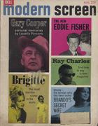 Modern Screen Magazine August 1961 Magazine