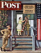 The Saturday Evening Post July 5, 1947 Magazine