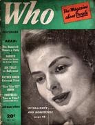 Who Magazine November 1941 Magazine
