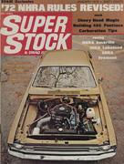 Super Stock & Drag Illustrated Magazine January 1972 Magazine