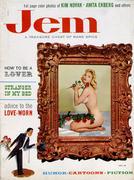 Jem Magazine November 1956 Vintage Magazine