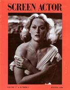 Screen Actor Magazine December 1988 Magazine