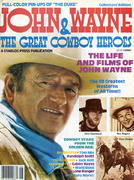John Wayne & The Great Cowboy Heroes Magazine