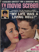 TV & Movie Screen Magazine June 1964 Magazine