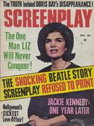 Screenplay Magazine November 1964 Magazine