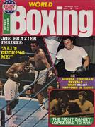 World Boxing Magazine September 1975 Magazine