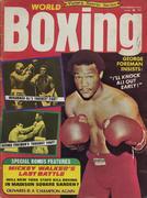 World Boxing Magazine November 1974 Magazine