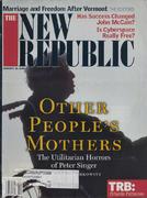 The New Republic Magazine January 10, 2000 Magazine