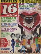 16 Magazine March 1966 Magazine