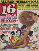 16 Magazine April 1966 Magazine