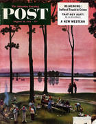 The Saturday Evening Post August 18, 1951 Magazine