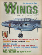 Wings Magazine June 1972 Magazine