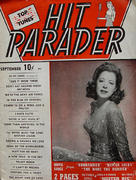 Hit Parader Magazine September 1943 Magazine