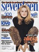 Seventeen Magazine August 1997 Magazine