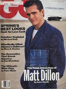GQ Magazine April 1991 Magazine