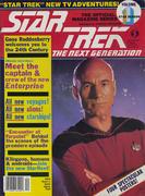 Star Trek: The Next Generation December 1987 Magazine