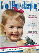 Good Housekeeping August 1954 Magazine