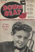 Down Beat Magazine May 19, 1954 Magazine