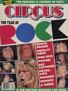 Circus Magazine December 31, 1987 Vintage Magazine