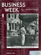 Business Week Magazine June 20, 1953 Magazine