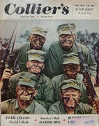 Collier's Magazine August 25, 1951 Magazine