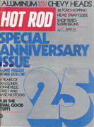 Hot Rod Magazine Special 25th Anniversary Issue January 1973 Magazine