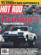 Hot Rod Magazine December 1975 Magazine