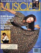 Musician Magazine August 1989 Magazine