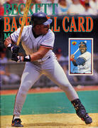 Beckett Baseball Card Monthly August 1989 Magazine