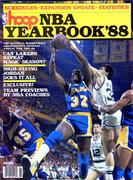 Hoop: NBA Yearbook '88 Magazine