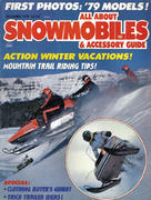 All About Snowmobiles Magazine December 1978 Magazine