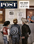 The Saturday Evening Post February 21, 1953 Magazine