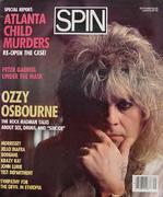 Spin Magazine September 1986 Magazine